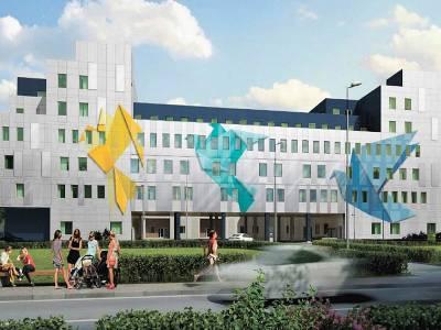 Определён облик фасада строящегося перинатального центра в Щёлкове