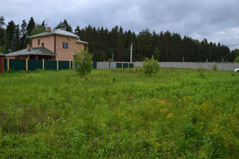 Земельный участок в деревне Здехово, Щёлковский район